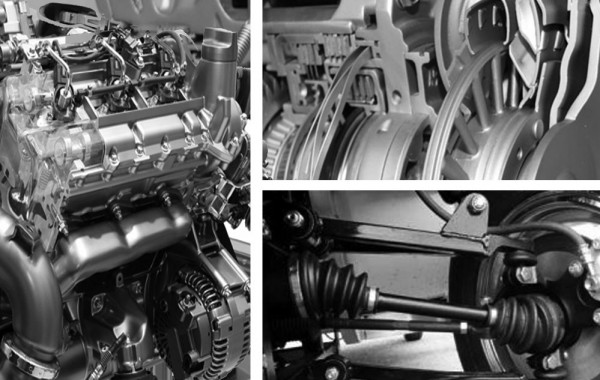Engine  & Transmissions And Drive Axles