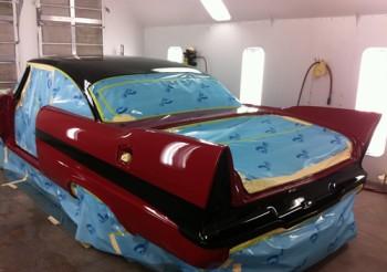 Professional Car Restoration Painting