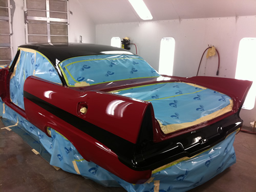 Professional Car Restoration Painting